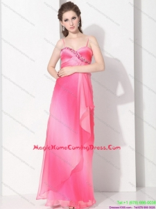 2015 Spaghetti Straps Homecoming Dresses On Sale in Multi Color