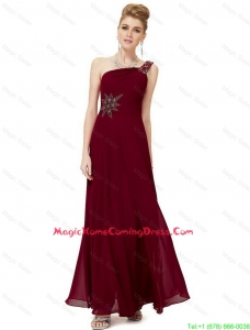 2016 Homecoming Discount Empire One Shoulder Appliques Lovely Perfect Homecoming Dresses