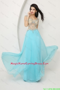 Perfect Beaded Straps Zipper Up Homecoming Dresses with Cap Sleeves