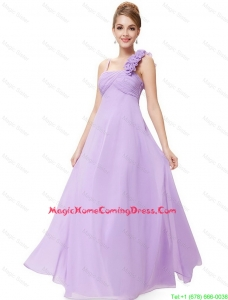 New Style Straps Lavender Homecoming Dresses with Ruching