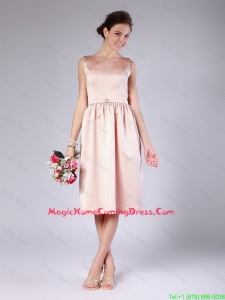 Discount Belt Short Peach Lovely Perfect Homecoming Dresses for 2015 Summer