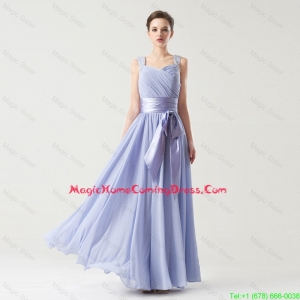 Hot Sale Straps Lovely Perfect Homecoming Gowns with Bowknot and Beading