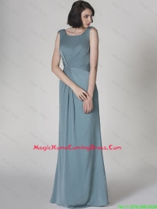 New Arrivals Scoop Backless Lovely Perfect Homecoming Dresses with Floor Length