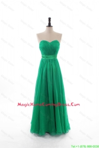 2016 Spring Empire Sweetheart Homecoming Dresses with Belt