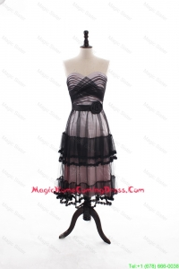 Low price A Line Sweetheart Homecoming Dresses with Ruffled Layers