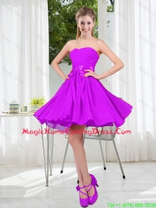2015 Fall A Line Sweetheart Homecoming Dresses