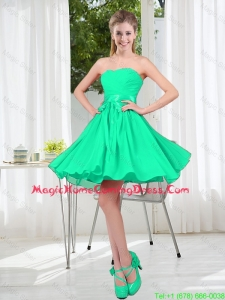 A Line Sweetheart Belt Homecoming Dresses for Party
