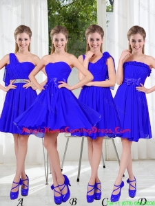 Elegant A Line Sweetheart Homecoming Dresses in Royal Blue