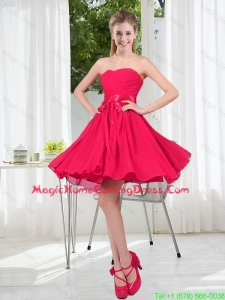 Custom Made A Line Sweetheart Homecoming Dress in Chiffon