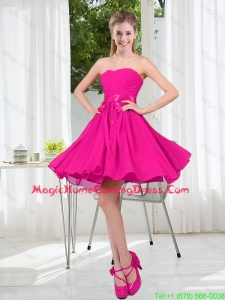 Custom Made Sweetheart Short Homecoming Dress with Bowknot