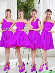 Pretty Sweetheart Beading Short Homecoming Dresses in Purple