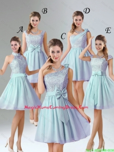 2016 Romantic A Line Lace Homecoming Dresses