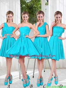Informal Homecoming Dress with Ruching for 2016