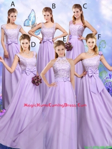 Popular Laced and Bowknot Homecoming Dresses with Empire