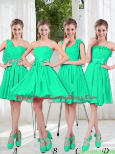 Turquoise Short Homecoming Dresses in Fall
