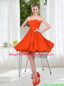 Custom Made Sweetheart Short Homecoming Dress with Belt