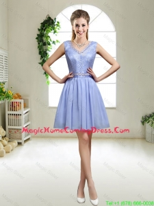 Discount V Neck Homecoming Dresses with Appliques and Sequins