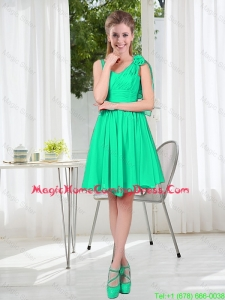 Popular A Line Straps 2015 Homecoming Dress for Wedding Party