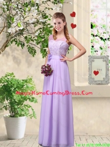 Comfortable Hand Made Flowers Homecoming Dresses with Lace