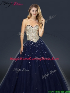 2016 Perfect A Line Sweetheart Homecoming Dresses with Beading and Paillette