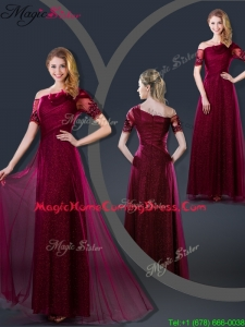 Perfect Empire Appliques 2016 Homecoming Dresses with Asymmetrical