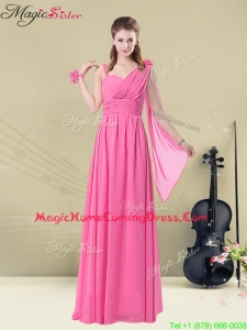 New Style Empire Straps Ruching Homecoming Dresses