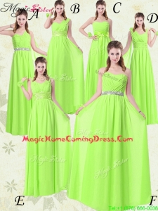Wonderful Floor Length Empire Ruching Homecoming Dresses for Summer