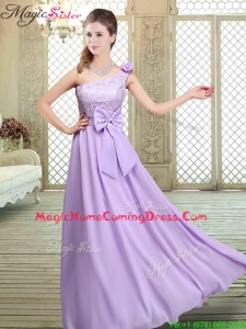 2016 Spring High Neck Lace Lavender Homecoming Dresses
