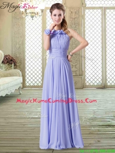 Sweet Empire Halter Top Homecoming Dresses in Lavender
