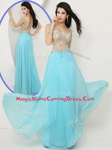 2016 Wonderful Empire Straps Homecoming Dresses with Beading
