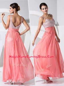 New Arrivals Empire Straps Sequins Prom Homecoming in Watermelon