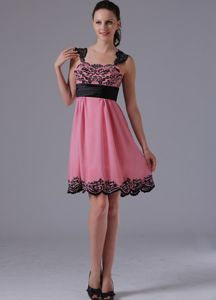 2013 Violet Red A-line Straps Appliques Tight Homecoming Dresses with Beading in Kihei
