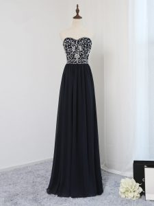 Sleeveless Beading Zipper Homecoming Dresses