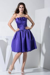 2013 Knee-length A-line Strapless Homecoming Dresses For Juniors in .Dundee