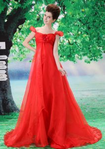 Off the Shoulder Gorgeous Homecoming Long Dress Popular in Saintes