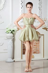 A-line Sweetheart Taffeta Junior Homecoming Dresses with Ruches in Avondale