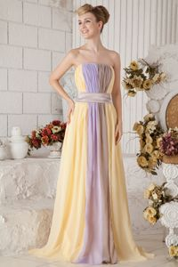 Colorful Empire Chiffon Homecoming Princess Dresses in Stoke Poges
