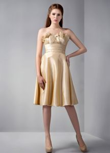 Ruffled Bust Strapless Vintage Homecoming Dresses in Granby Quebec