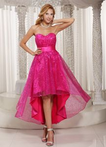 Paillette Sweetheart Sash Guelph Ontario Homecoming Princess Dress