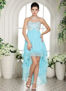 Appliques Sweetheart Aqua Blue Oshawa Ontario Homecoming Dresses