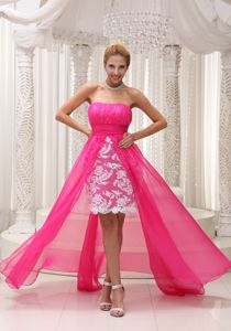 Lace Strapless High-low Homecoming Dress Sale in Saguenay Quebec