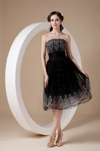 Embroidery Strapless Black Edmonton Alberta Homecoming Dresses