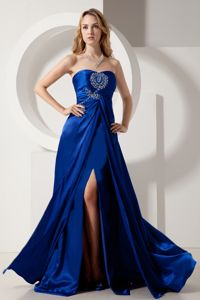Coquitlam British Columbia Strapless Beading Slit Homecoming Gowns