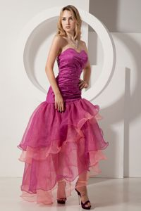 Layers Sweetheart Beading Homecoming Dresses in Saguenay Quebec