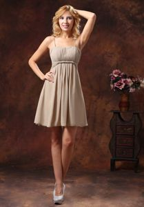 Ohio Spaghetti Straps Designer Homecoming Dresses with Mini-length