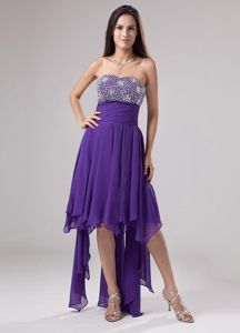 Beaded Bust for Purple Vintage Homecoming Dresses In New Hampshise