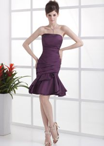 Dark Purple Homecoming Dresses On Sale with Ruche in Connecticut