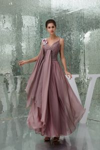 Elegant Spaghetti Straps Ruched Designer Homecoming Dresses in Chiffon from Imperial