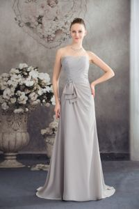 Beaded Strapless Empire Designer Homecoming Dresses With Brush from Louisville