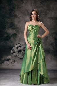 low Price Lace-up Green Formal Party Dress for Homecoming under 150